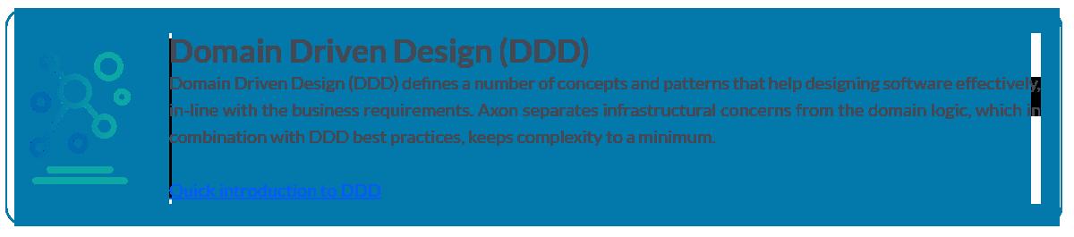 Domain Driven Design (DDD) with Axon